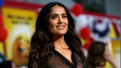 Salma Hayek Said Trump Planted A Story About Her In The National Enquirer After She Refused To Date