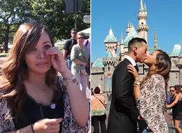 This Guy's Disneyland Proposal Will Take You To A Whole New World