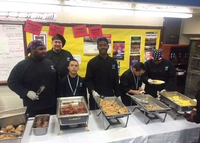 Community Partner Breakfast Catered by the O.D. Wyatt Culinary Arts Students