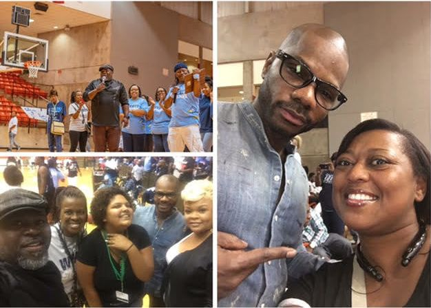 Celebrity Alumnus David Mann and Kirk Franklin showed their love and support!  Tamela Mann (a Poly Parrot) showed her support