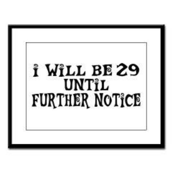 The Perennial 29th Birthday