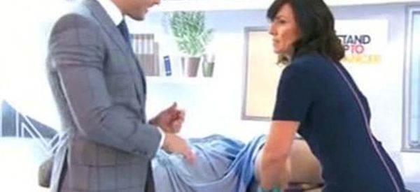 Nothing To See Here, Just Davina Performing A Rectal Exam On Live TV