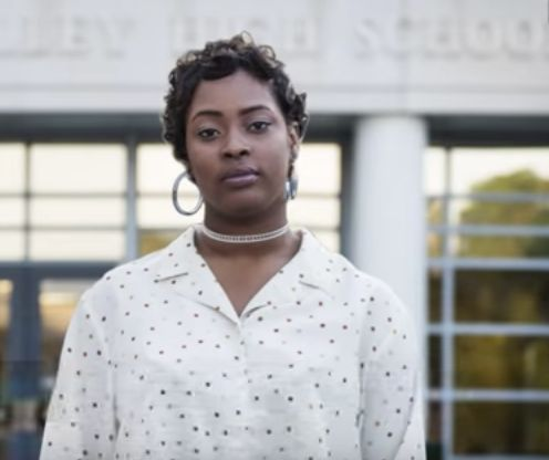 Niya Kenny, 19, was arrested after she stood up for a fellow student at Spring Valley High School in South Carolina in O