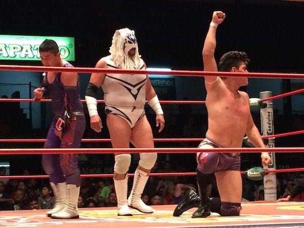 Lucha libre wrestling in Guadalajara