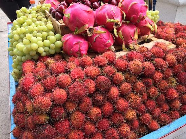Fresh fruit in Guadalajara