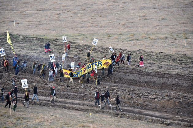 Authorities lack 'manpower' to remove pipeline protest camp