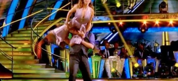 Watch The Moment Ed Balls Almost Drops His 'Strictly' Dance Partner