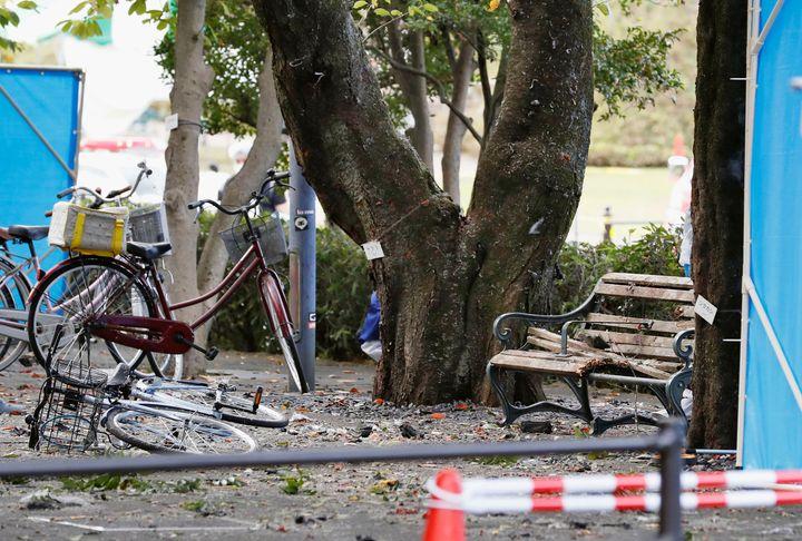 TheJapanese city of Utsunomiya was rocked by multiple explosions on Sunday.