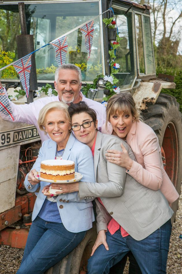 'The Great British Bake Off' Technical Cakes Are NOT Made By Mary Berry And Paul