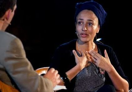 Paul Holdengraber & Zadie Smith, Photo Courtesy of LIVEfrom NYPL