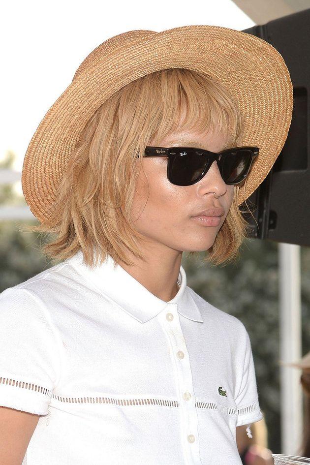 Zoe Kravitz attends Coachella