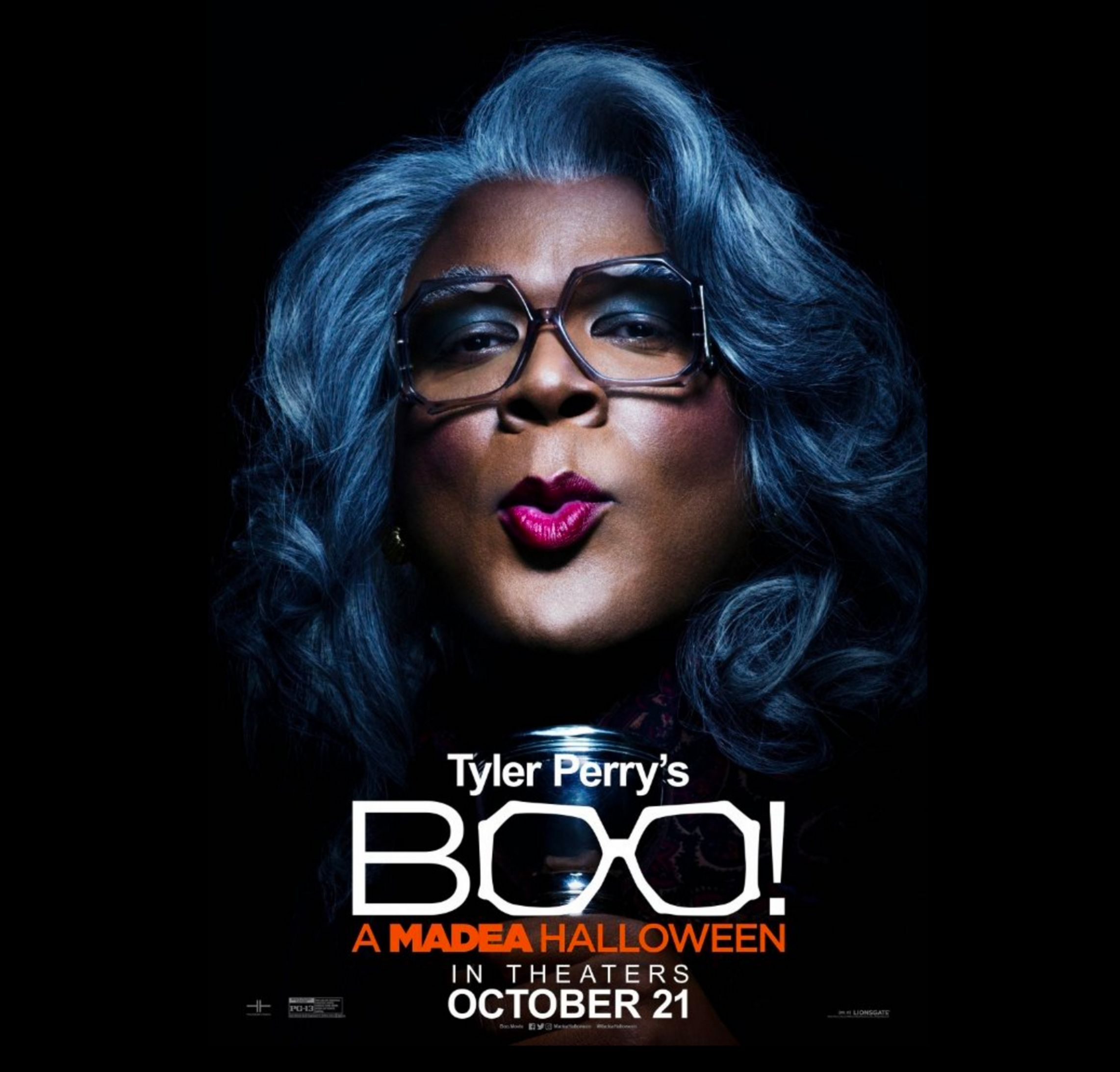 madea halloween' scares off 'jack reacher' sequel at the box office