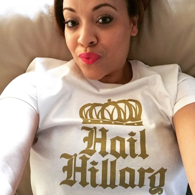 Hail Hillary Put It On A Tee Shirt, Get the Trademark