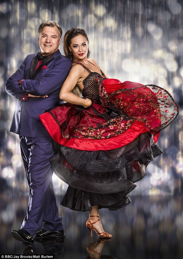 Strictly's Katya Jones On What It's Really Like Training With Ed