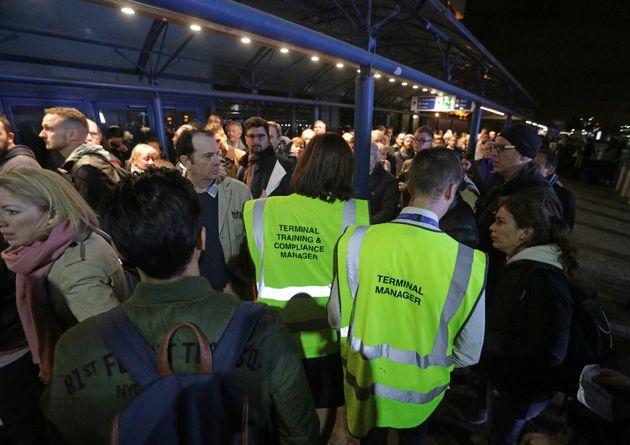 People queue London City