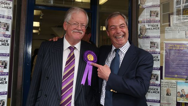 UKIP's Roger Helmer Defends Tweet Depicting Calais Refugees As Possible Terrorists Or Sex