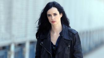 NEW YORK, NY - JUNE 02:  Krysten Ritter filming Marvel Productions/Netflix's 'A.K.A. Jessica Jones on June 2, 2015 in New York City.  (Photo by Steve Sands/GC Images)