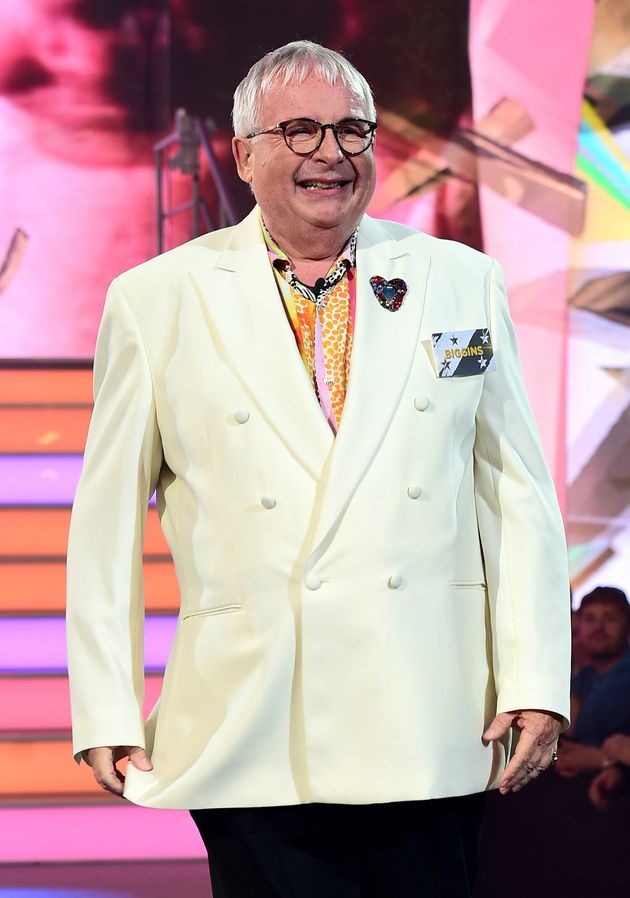 Christopher Biggins was eventually removed from the 'Celebrity Big Brother' house over a separate