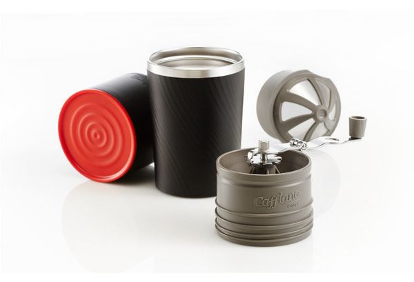 """The <a href=""""http://cafflanoshop.com/"""" target=""""_blank"""">Cafflano</a>is an all-in-one coffee system. This travel mug-size"""