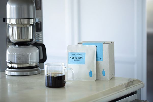 """If you don't know <a href=""""https://bluebottlecoffee.com"""" target=""""_blank"""">Blue Bottle Coffee</a>, prepare to have your coffee-"""