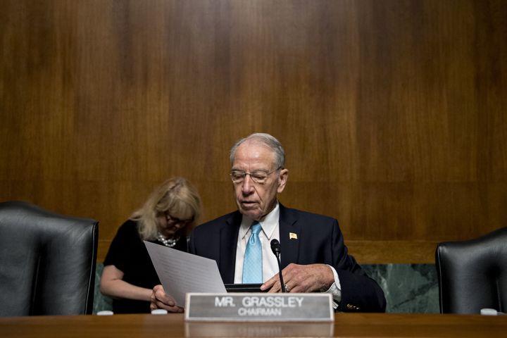 Sen. Chuck Grassley (R-Iowa) has a new reason for not giving Supreme Court nominee Merrick Garland a hearing.