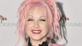 HOLLYWOOD, CA - OCTOBER 09:  Singer/True Colors Fund co-founder Cyndi Lauper attends her 'Damn Gala' at Hollywood Athletic Club on October 9, 2016 in Hollywood, California.  (Photo by Rodin Eckenroth/Getty Images)