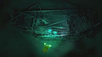 Photogrammetric model of Ottoman wreck