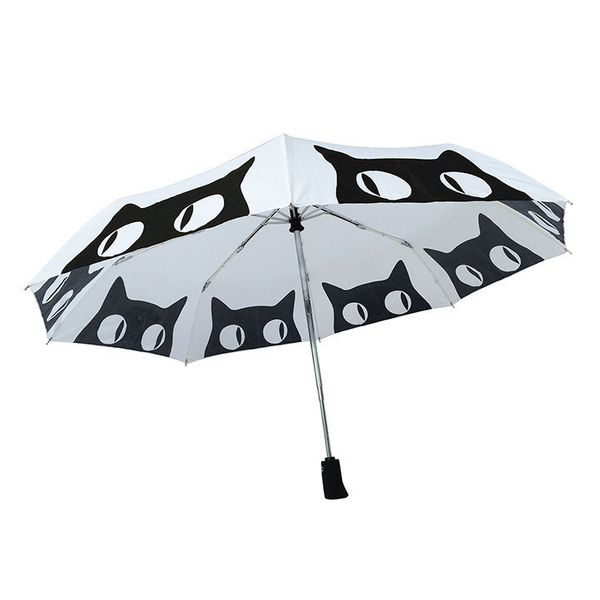 """Big Eyes Cat Umbrella, $24.95,<a href=""""https://www.etsy.com/listing/244220712/special-edition-big-eyes-cat-umbrella?ga_"""