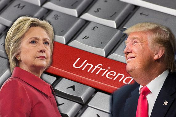 In the current U.S. presidential election, social media has a huge role to