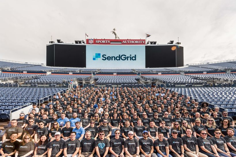 SendGrid's 2016 Summer Alignment at Sports Authority Field.