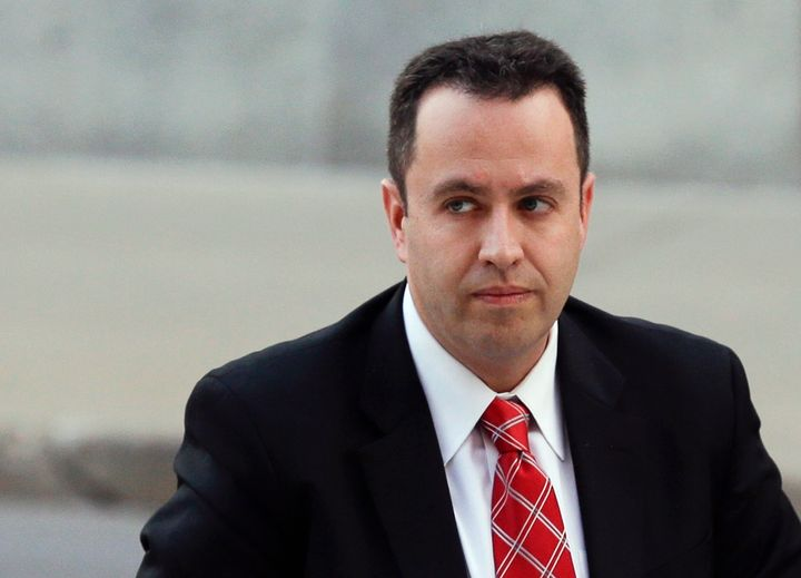 Former Subway pitchman Jared Fogle, seen here in November, was sentenced last year to 15 years in prison for his crimes.&nbsp
