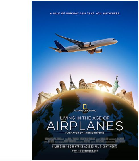 Living In The Age of Airplanes narrated by Harrison Ford