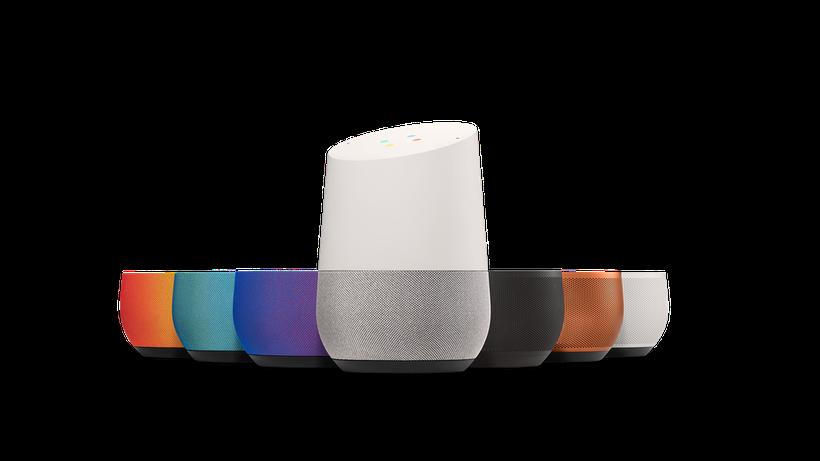 The Google Home. Source: Google