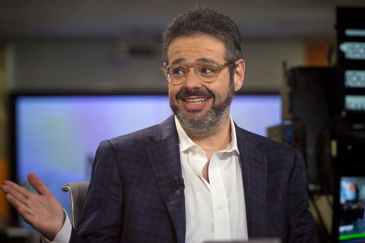 Isaac Lee, CEO of Fusion, speaks during a Bloomberg Television interview in New York on June 8, 2015.