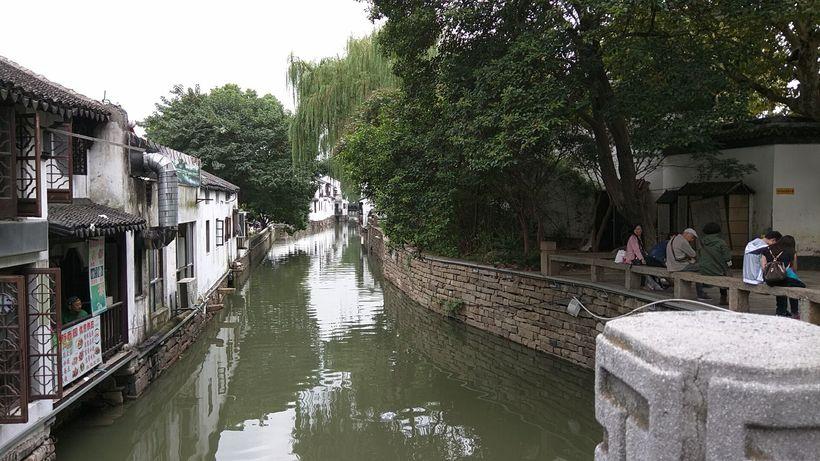 Canals wind through Suzhou