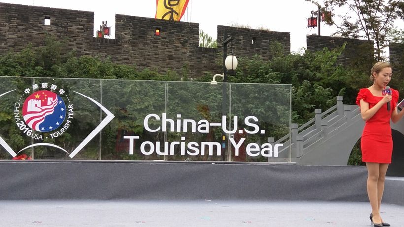 A festival welcomed overseas visitors