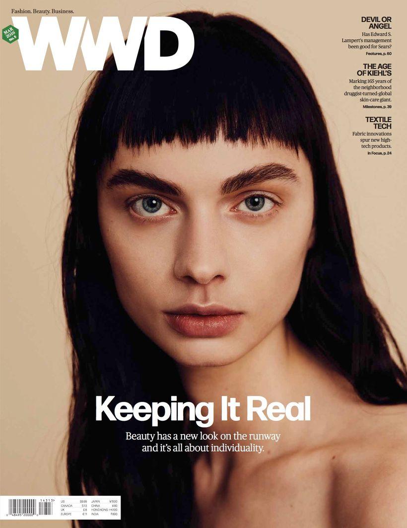 WWD magazine - Industry publication.
