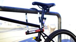 This 'Vomiting' Bike Lock Makes Thieves Throw Up