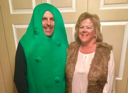 Mum And Dad's Tame-Looking Halloween Costume Is Actually Really Naughty