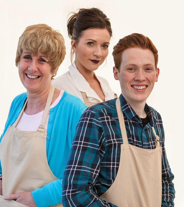 Jane, Candice and Andrew are battling it out to be 'Bake Off'