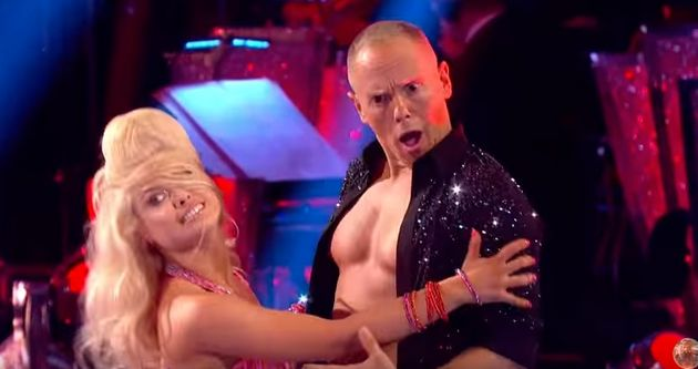 The TV judge is hoping he and partner Oksana will make it to