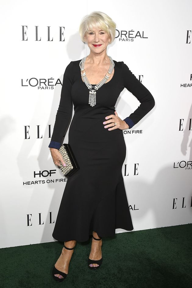 Helen Mirren Blesses The World With A Figure-Hugging Black