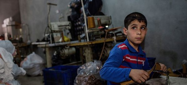 The Clothes You're Wearing May Have Been Illegally Made By Syrian Refugees