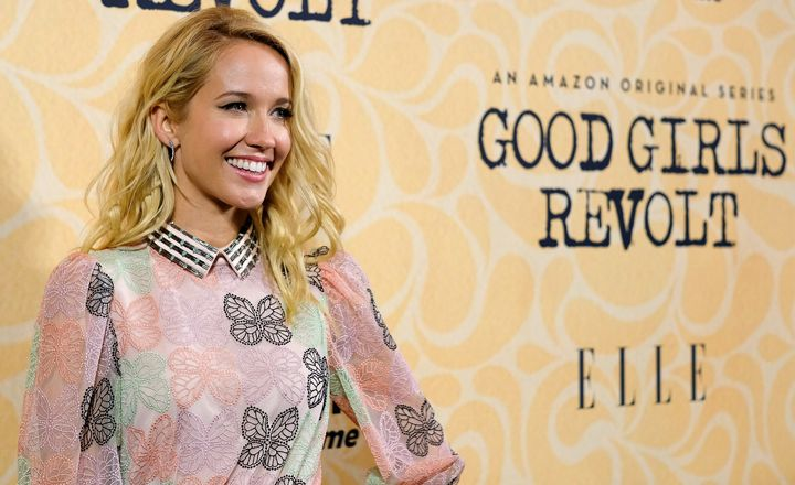 Anna Camp wants young women to empower young women to stand up for themselves against sexual harassment.
