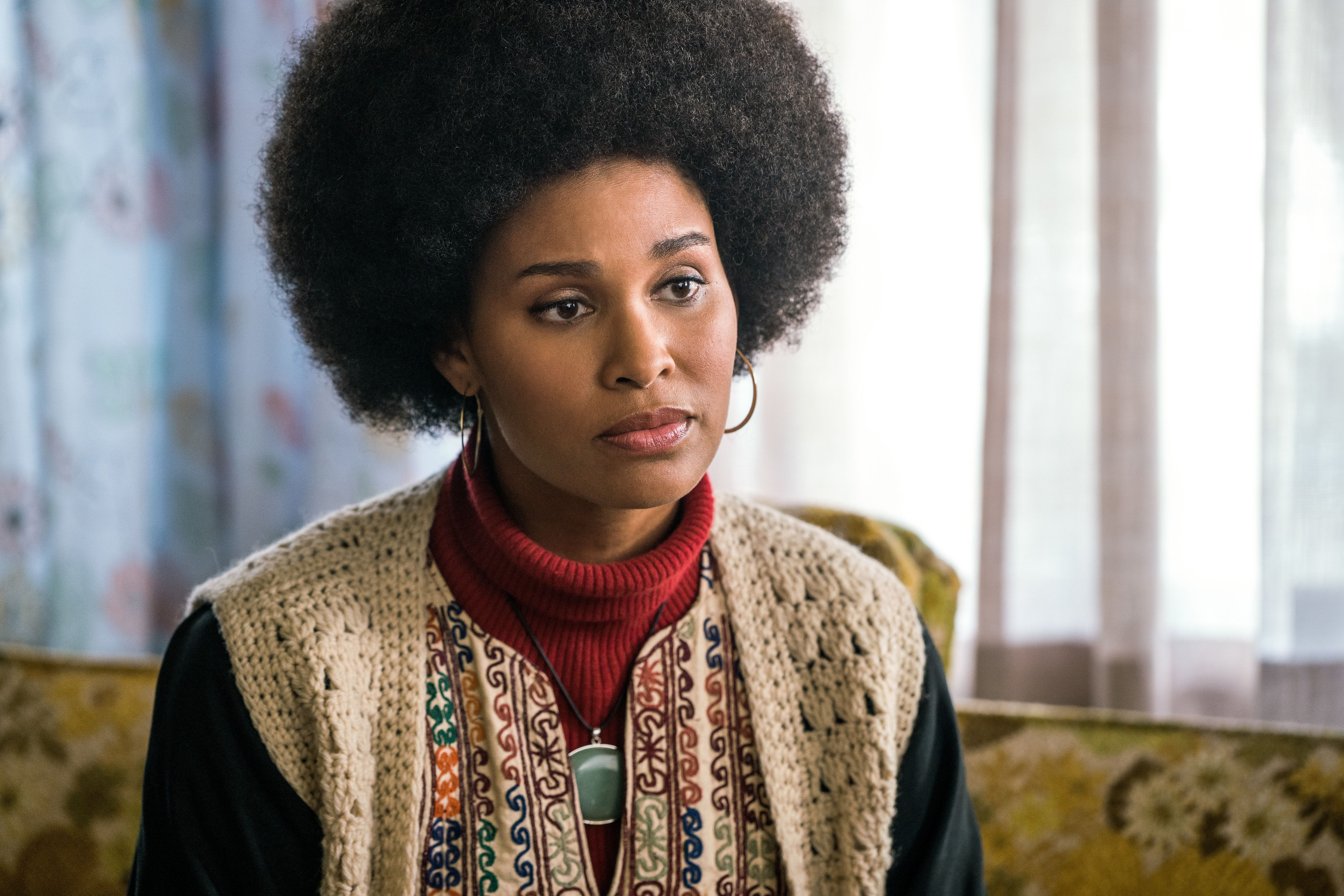 "In ""Good Girls Revolt,"" Joy Bryant portrays Eleanor Holmes Norton, the lawyer who represented a group of women who sued Newsw"
