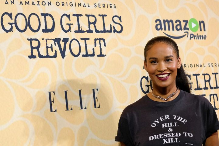 "Joy Bryant at a screening of ""Good Girls Revolt"" in New York on Oct. 18."