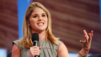 Jenna Bush Hager participates in a panel discussion at the Clinton Global Initiative, in New York, September 22, 2010.  REUTERS/Chip East (UNITED STATES - Tags: POLITICS BUSINESS)