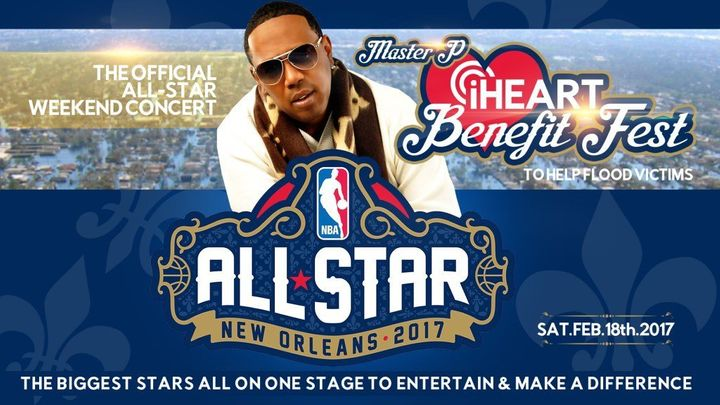 Master P's iHeart Benefit Fest is set to take place in New Orleans Feb. 18.