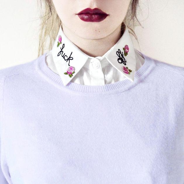 Fck Off Collar, $27.40+,