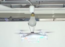 Watch A Drone Replace A Light Bulb (And Smash A Few Others In The Process)